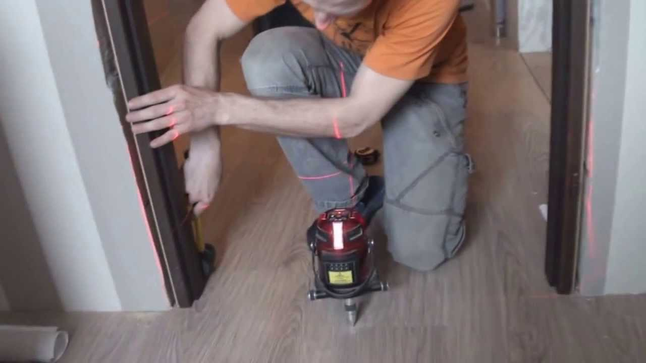 Как правильно установить межкомнатную дверь без порога, комплектация и  сборка