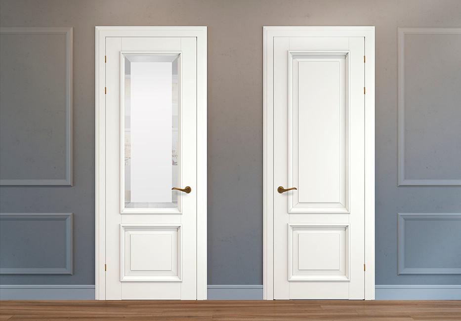 стандартные размеры межкомнатных дверей с коробкой какая