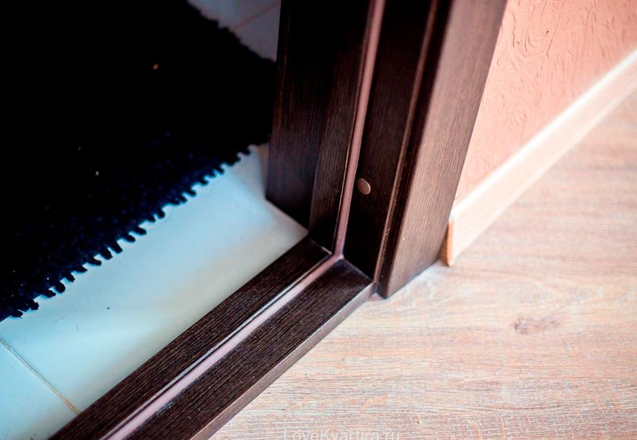 пороги для межкомнатных дверей плюсы и минусы конструкции