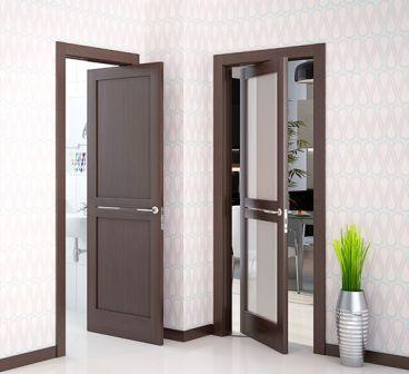 Как правильно должны открываться межкомнатные двери{q}